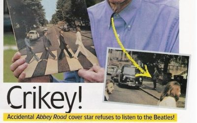 Man On Abbey Road Cover Doesn't Like The Beatles