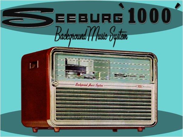"1963 Seeburg ""1000"" Background music system"