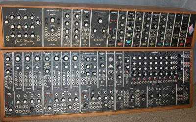 May 17 1965, Moog introduces the first analog synthesizer.