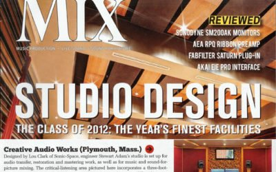 The Year's Finest Facilities Featured in MIX magazine's Class of 2012.