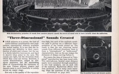 ?SOLID MUSIC? Three-Dimensional? Sounds Created