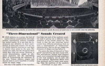 """""""SOLID MUSIC"""" Three-Dimensional Sounds Created"""